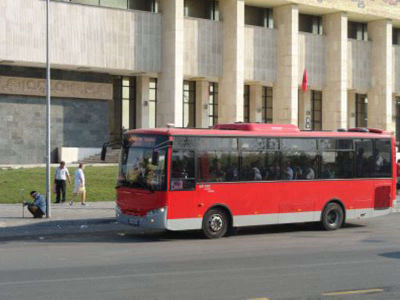 City Transport in Tirana
