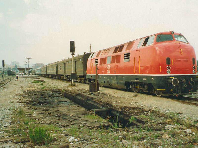 Treni in Albania