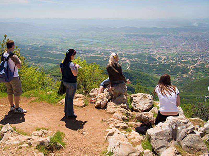 hike to Mountain Dajti Tirana