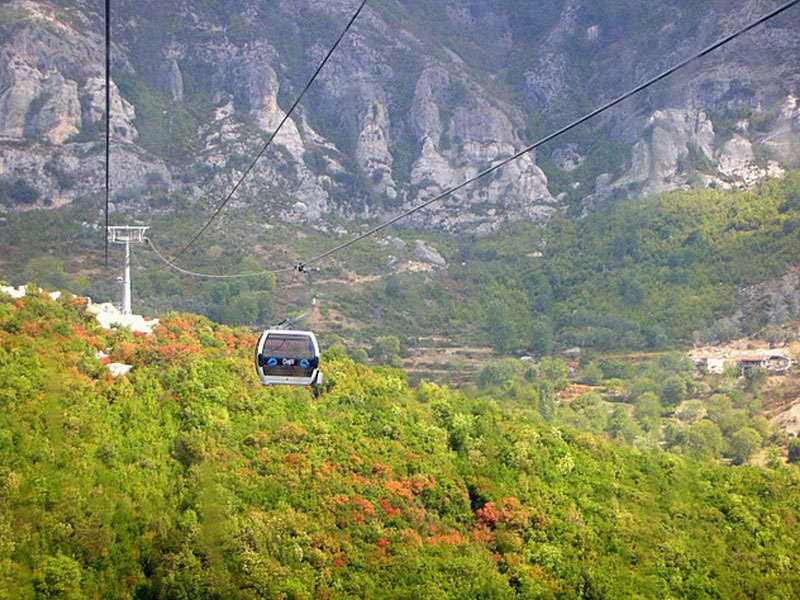 Tirana -Dajti Mountain Cable Car