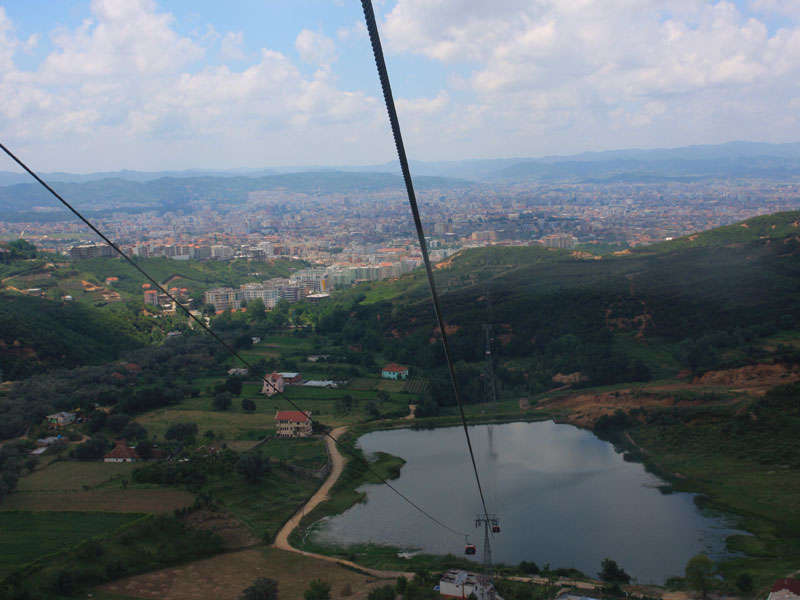 Cable car Tirana-Dajti Mountain
