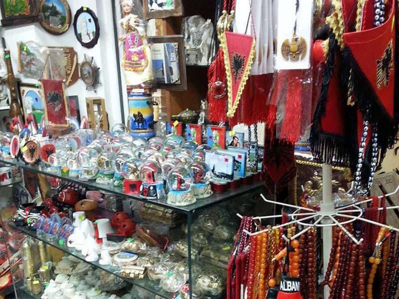 Souvenirs in Tirana