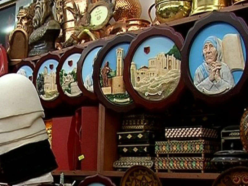 negozi di souvenir a Tirana
