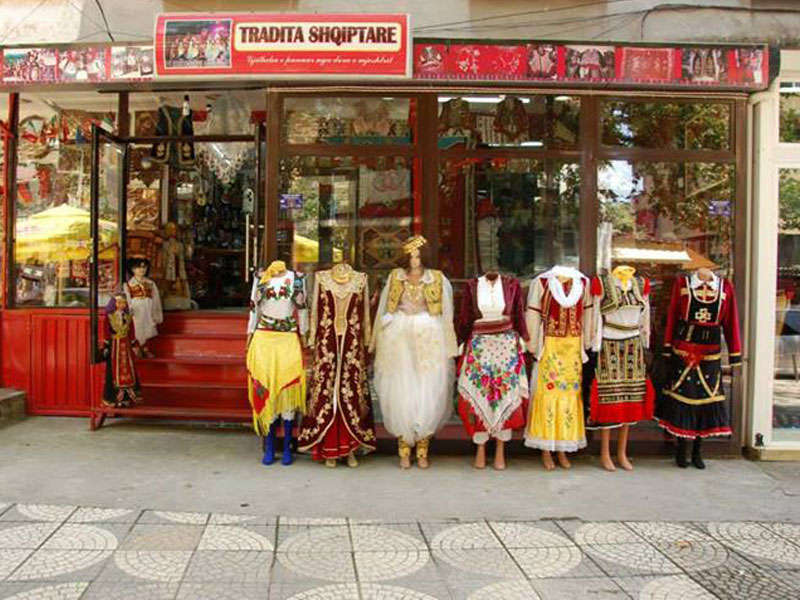 Traditional Souvenirs in Tirana