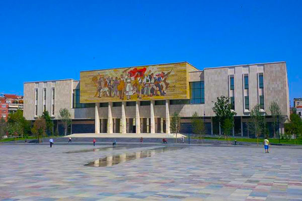 National Historical Museum in Tirana Albania, museums in Tirana