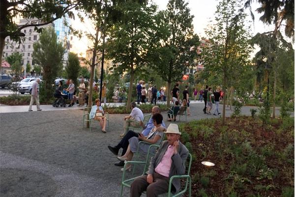 piazza Scanderbeg Tirana, monumento di Scanderbeg Tirana