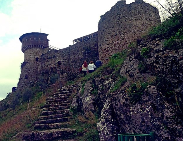 Castle of Petrela in Tirana