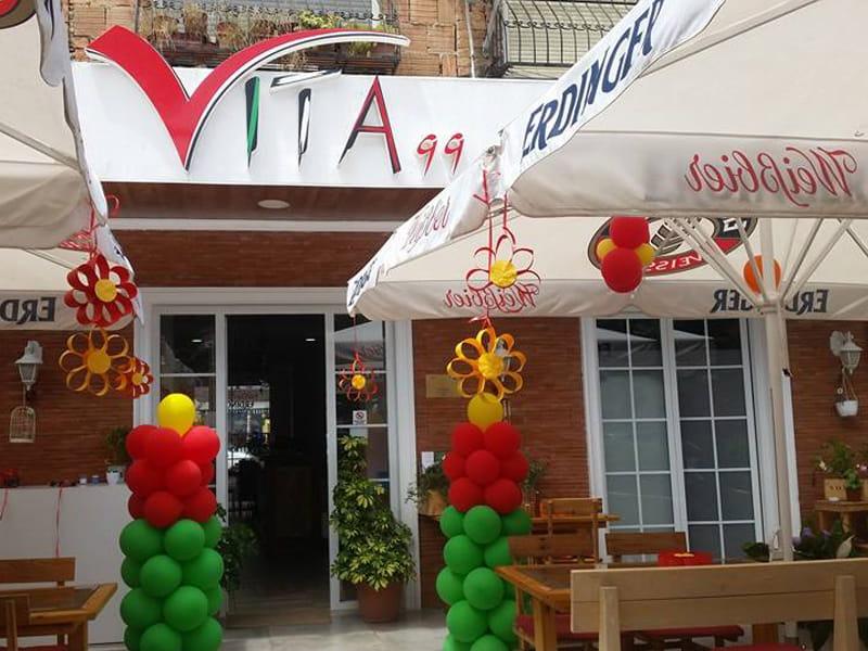 Restaurant Vila 99 In Tirana Albania