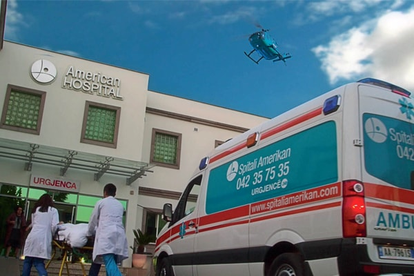 American Hospital in Tirana Albania
