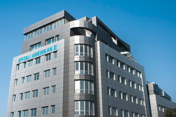 American Hospital in Tirana