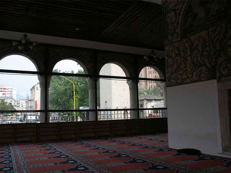 Et'Hem Bey mosque is closed for restoration