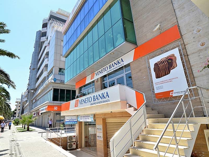 Veneto Banka in Tirana Albania