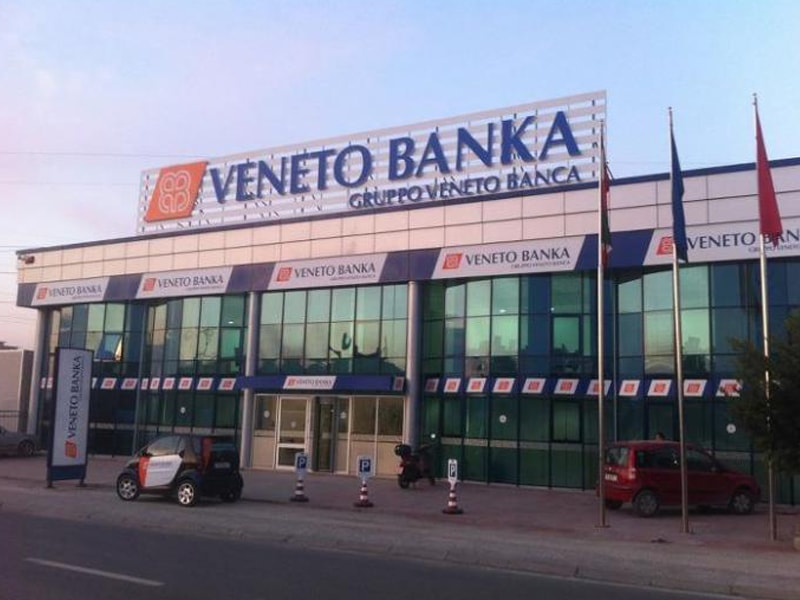 Veneto Banka in Tirana