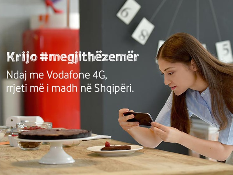 Vodafone Comunication in Albania