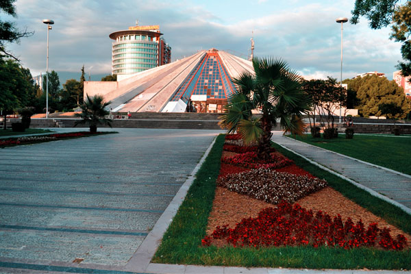 The Pyramid Tirana, Albania, Pyramid Monument in Tirana