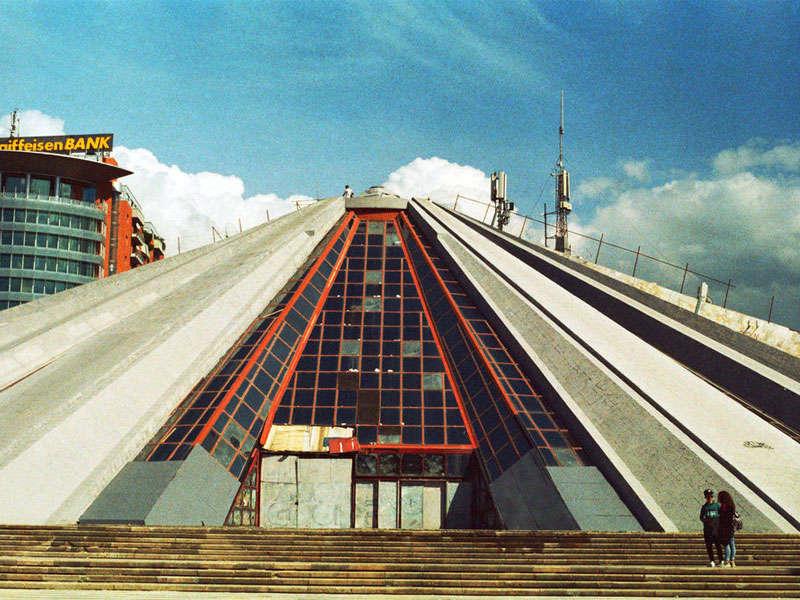 The Pyramid Tirana, Albania