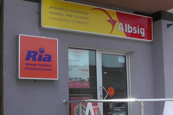 Albsig assicurazioni a Tirana