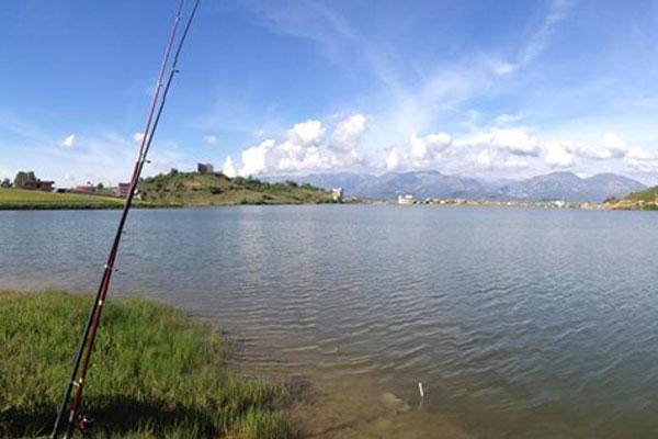 Lake Kashari Tirana