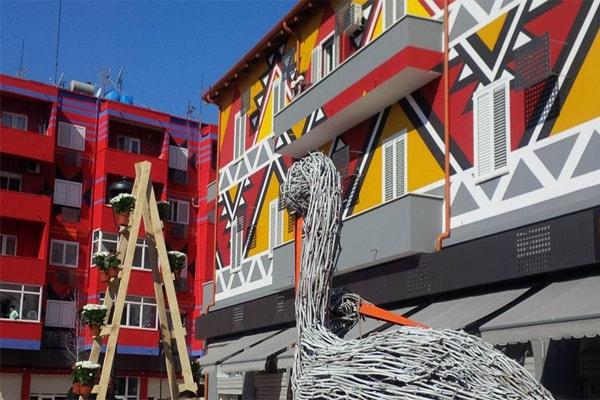 Nuovo Bazar a Tirana Albania