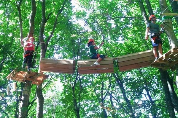 Dajti Adventure Park Tirane, Parku i Aventurave Dajt Tirane, Sporte aventure ne Tirane