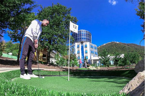 Dajti Mini Golf in Tirana, sports in Tirana, things to do in Tirana