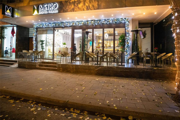 Metro Hotel, a charming welcome in Tirana