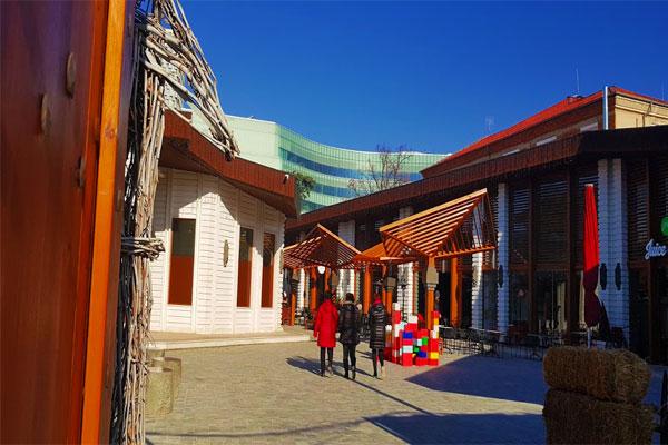 Justinian Fortress Wall, Tirana Castle