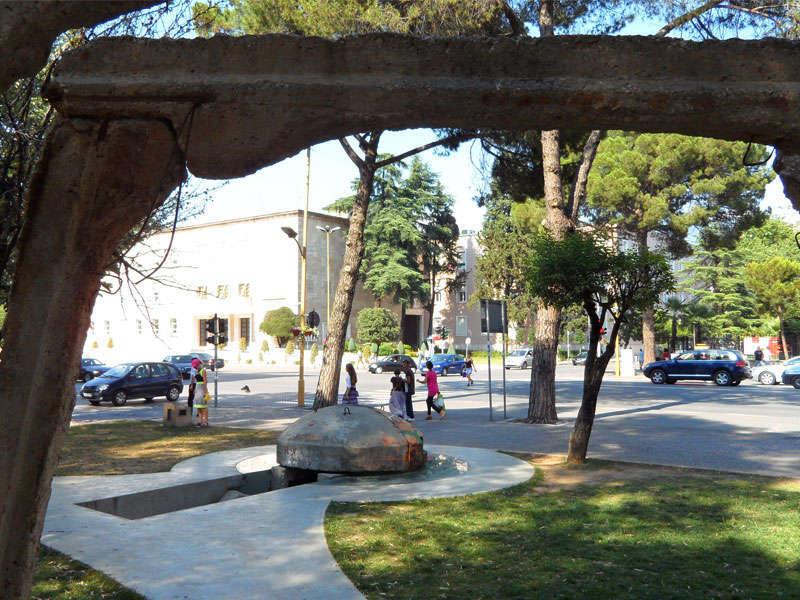 Postbllok (Checkpoint) Tirana, Comunism memorial Tirana