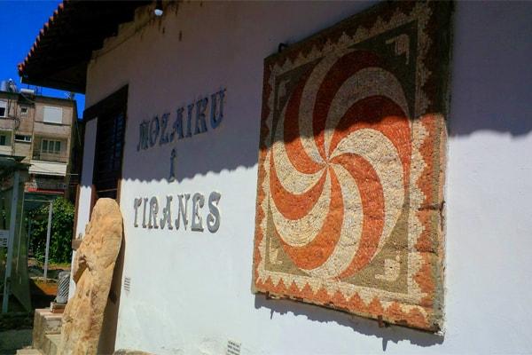 The Tirana Mosaic Albania