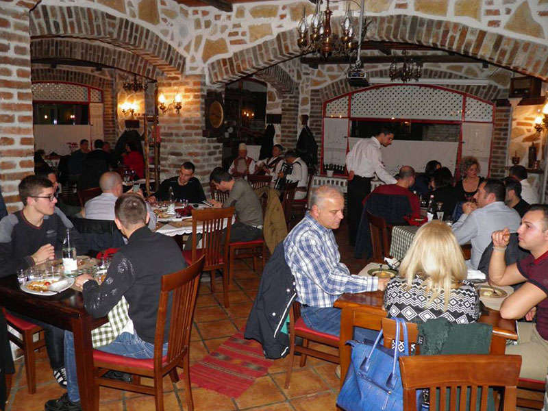 Etnik Restaurant in Tirana