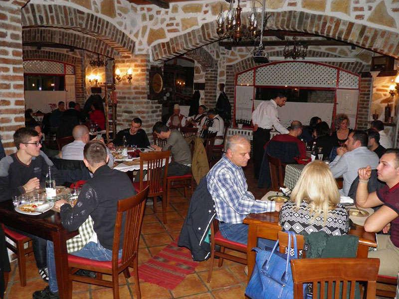 Etnik Restaurant in Tirana
