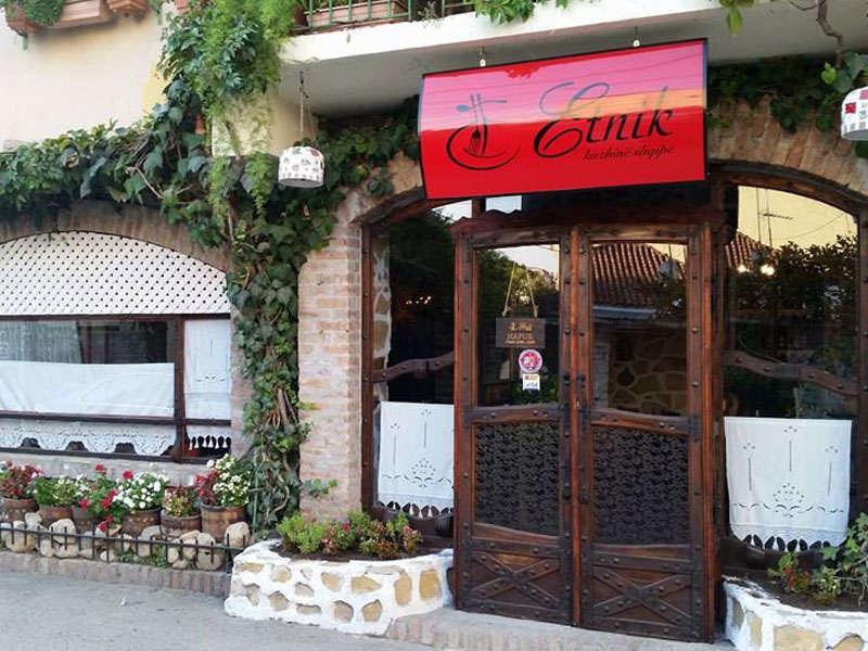 Etnik Restaurant in Tirana Albania