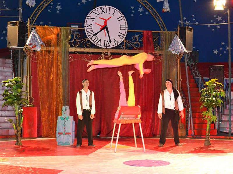 The Tirana circus in Albania