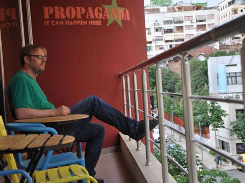 Propaganda Hostel a Tirana Albania