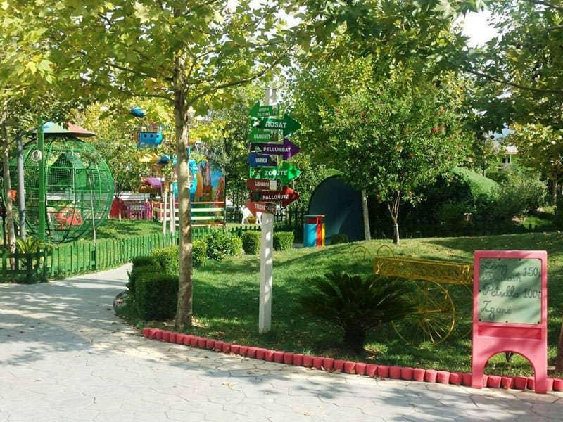 Blue Park in Tirana