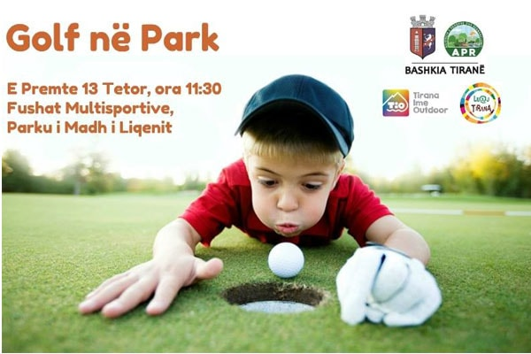 golf in park Tirana