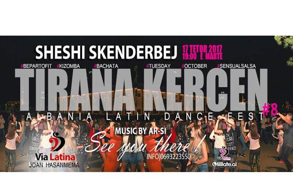 Tirana dance Albania