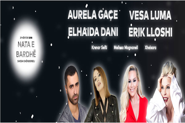 white night in tirana, concert in tirana