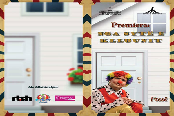 'Through the eyes of a clown' circus show, Circus Show in Tirana, Events in Tirana, Activities in Tirana, Visit Tirana