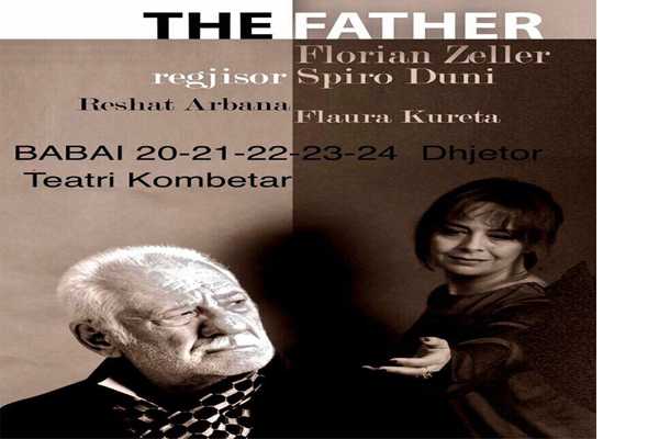 'The Father' at National Theater, theater shows in Tirana, theaters in Tirana, events in Tirana, activities in Tirana, Visit Tirana
