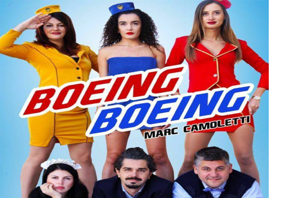 'Boeing Boeing' comedy at Experimental Theater in Tirana, theater show in Tirana, theater shows in Tirana, events in Tirana, activities in Tirana, Visit Tirana