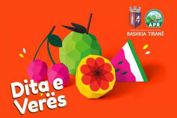 Summer day Tirana Elbasan