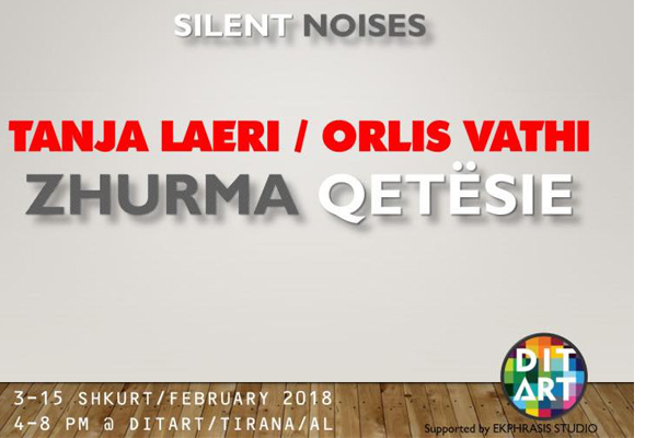 'Zhurma qetësie' ekspozitë në DitArt, ekspozita ne Tirane, evente ne Tirane, aktivitete ne Tirane, galeri arti ne Tirane, Vizito Tiranën