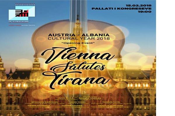 Vienna salutes Tirana