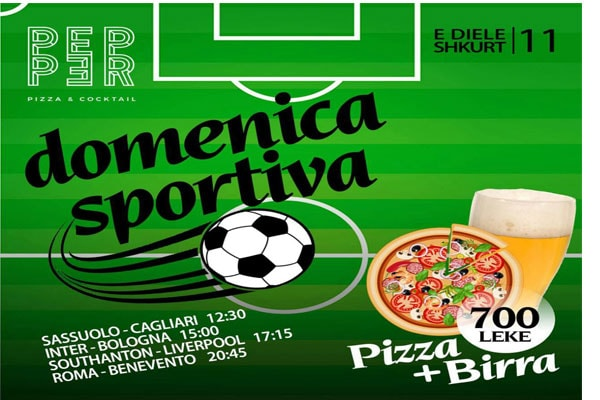 best bars in tirana pepper pizza