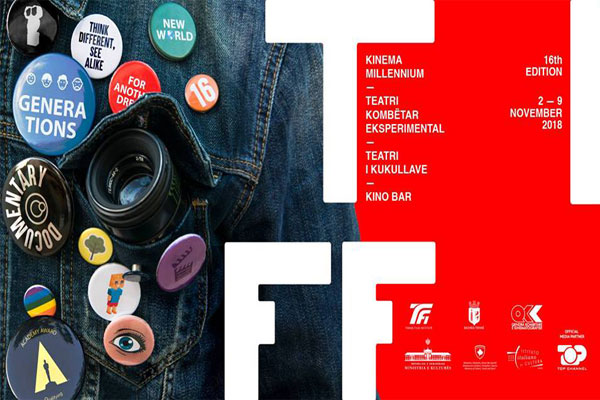 Award ceremony of docutiff 2018, events in tirana, film festival in tirana