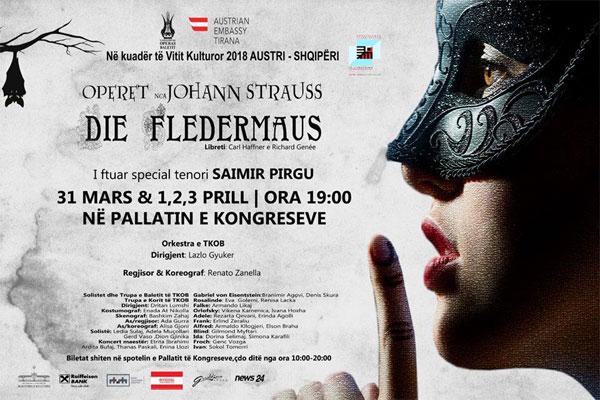 Die Fledermaus  operetta  Tirana