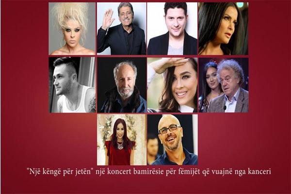 charity concert tirana