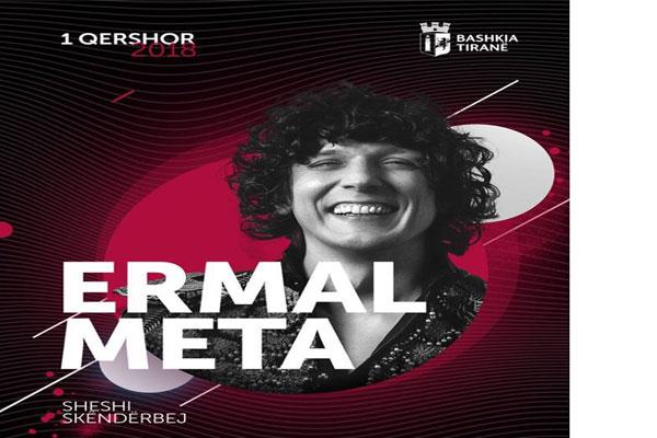 Ermal Meta concert in Tirana