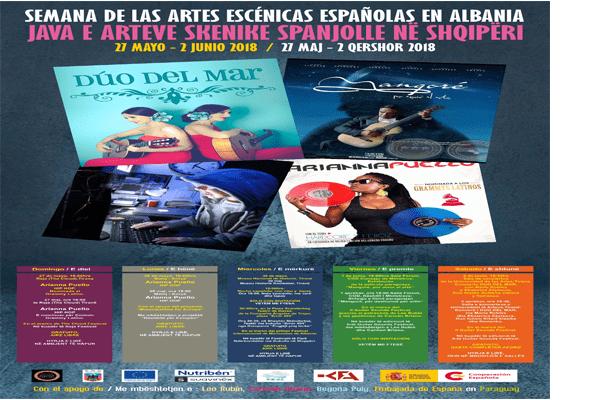 Week of Scenic Spanish artworks in Albania